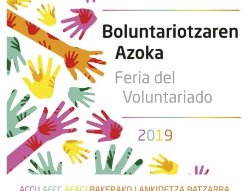 ACCU Gipuzkoa participa en la Feria de Voluntariado de Ordizia 2019