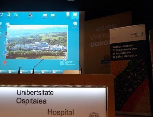 Reportaje fotográfico: Jornada Médica sobre la EII en el Hospital Donostia.