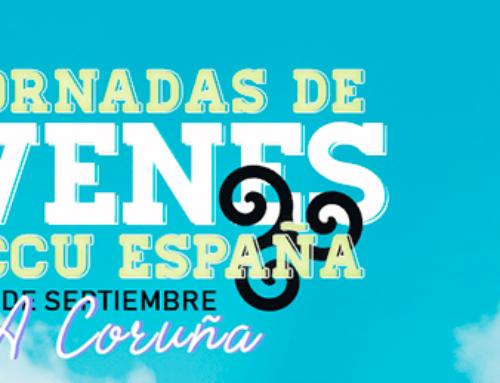 Jornadas de jóvenes de ACCU 2019 en Bergondo (A Coruña) del 5 al 8 de septiembre.