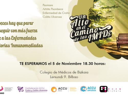 Programa: «Un alto en el camino» Martes 5 de Noviembre (Bilbao)