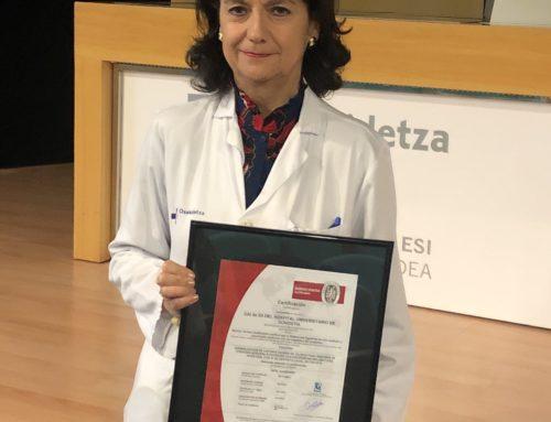 El Hospital Universitario de Donostia recibe el mayor reconocimiento en el tratamiento de la Enfermedad Inflamatoria Intestinal                                                                                            20 de diciembre 2019