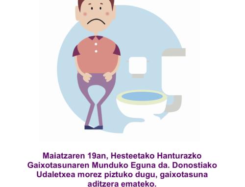 Vídeo ACCU Gipuzkoa por el Día Mundial de la Enfermedad Inflamatoria Intestinal